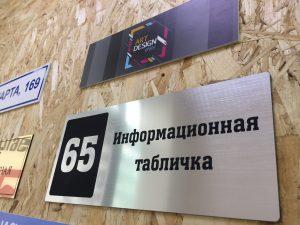 таблички из акрила в Екатеринбурге
